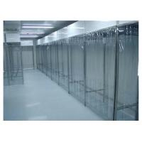 Quality Stainless Steel Class 100 Pharmacy Clean Room With PVC Plastic Curtain Wall for sale