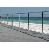 Quality Stainless steel railing systems prices cable handrail cable balustrade for sale