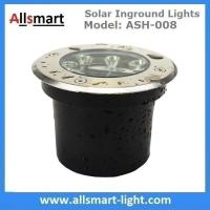 Quality Φ120x65mm Solar Paver Lights Solar Underground Lights Solar Brick Lights IP68 for Pathway Driveway Square Plaza for sale