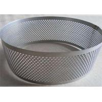 China Galvanized Perforated Stainless Steel Mesh Sheet For Filtration Support on sale