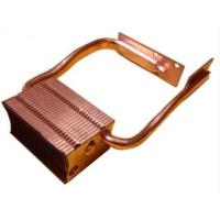 Quality OEM Copper Skived Fin Heat Sink Copper Cu1100 For Projector /  Computer for sale