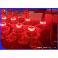 Quality Double Aviation Obstruction Light Low - Intensity L810 Red Flashing for sale