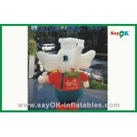 Quality Custom Cute Elephant Inflatable Cartoon Characters For Holiday Decorations for sale