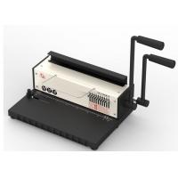 Quality 15 Sheets TD-1500B10 Wire Binding Machines With 10 Free Blades Heavy Duty Binder for sale