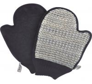 Quality Body Exfoliating Body Scrubbing Sisal Gloves , 100% Natural Sisal Bath Mitt for sale