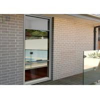 Quality Aluminium Alloy Vertical Sliding Windows With Single / Double Glazing for sale