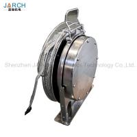 Quality Oil Tank Floating Coil Hose Reel Disk Placing Static Electricity / Lightning Protection for sale