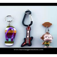 Quality Custom 3d soft pvc keychain key chain / Soft Rubber Keychains / Silicone Keyring for sale