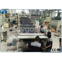 China Automatic PVC Board / Plastic Sheet Making Machine Extrusion Line High Precision on sale