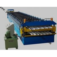 Quality Color Coated Roof Panel Roll Forming Machine , Roof Tile Forming Machine For Metal Sheet for sale