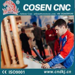 China cnc wood turning lathe with cosen cnc lathe software programs on sale