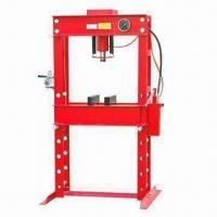 Quality Professional Hydraulic Shop Press with 20 to 150T Capacity and 690mm Bed Width, CE Certified for sale