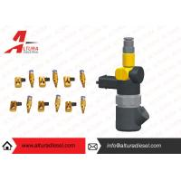 Quality Aviation Aluminum Injector Backflow Connector Golden For Bosch / Denso JY05 for sale