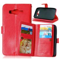 Samsung Galaxy J1 J2 J3 J5 J7 Wallet Case Leather Cover Bags Pouch 9 Cards Slot