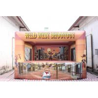 Buy Commercial Inflatable Wild West Shootout Games at wholesale prices