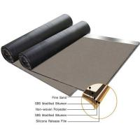 Buy Non woven compound glassfiber mat SBS modified bitumen waterproof membrane at wholesale prices