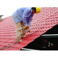 Quality plastic PVC+ASA easy installation steel structure roofing tile for sale