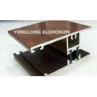Quality Acid Resistant Anodized Curtain Wall Aluminum Frame For Decoration Smooth Edges for sale