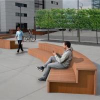 Quality Executive plastic wood composite tables and chairs wpc reading table and chair for sale