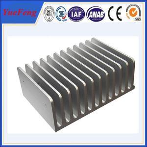 Quality Hot! aluminum profile extrusion 6063 aluminium alloys aluminum radiator for sale