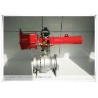 China High performance Spring Return Scotch yoke pneumatic actuator for ball valves on sale