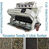 Quality Sesame seeds color sorting machine, sesame seeds processing machine for sale
