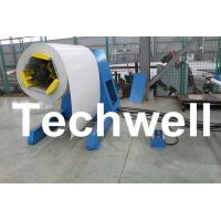 Quality High Speed Hydraulic Auto Uncoiler / Decoiler with Weight Capacity Of 5 / 7 / 8 Ton for sale
