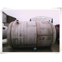 Quality 240 Gallon Stainless Steel Air Receiver Tank Horizontal Orientation SGS Approved for sale