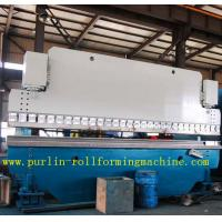Quality Automatic PLC Control Hydraulic Bending Machine For Roofing Sheet , ISO / CE Approved for sale