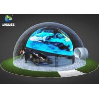 Quality Immersive Projection Dome 5D Movie Theater For Amusement Park SGS GMC for sale