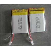 China 3.7V 850mAh Li Polymer Rechargeable Battery Packs 603443 for Electric tools on sale