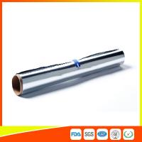 Quality Household Aluminium Foil Roll For Food / Chocolate / Cheese / Butter Wrapping for sale