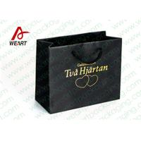 Quality Hot Stamping Printed Custom Paper Shopping Bags For Retail Store Medium Size for sale