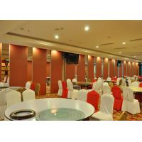 Quality Hotel Steel / MDF Sliding Glass Doors  For Huge Stadium Single Or Double Door for sale