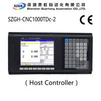 Two Axis Cnc Lathe Controller , Programming Cnc Board Controller 8.4 Inch Lcd Displayer