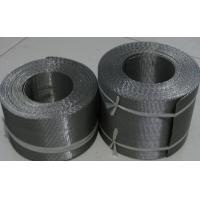 Quality Reverse Dutch Twill Weave Filter Belts Used in Ribbon Style Continuous Screen Changers for sale