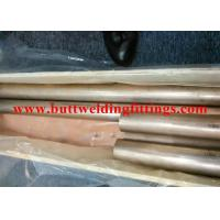 Quality SGS / BV / ABS / LR CuNi 70/30 Seamless Copper-Nickel Tube  For Air Condition for sale