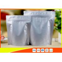 Quality Heat Seal Coffee Packaging Bags Food Grade Side Aluminum Foil Coffee Bags With Valve for sale
