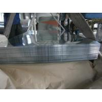 Quality Hot Dipped Galvanized Steel Sheet / Sheets , Big Spangle For Outer Walls for sale