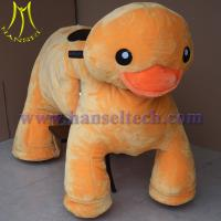 China Hansel wholesale children cars happy wheels game ride on animal toys for sale