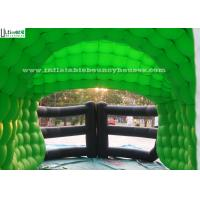 China 7.0L x 3.6W mts outdoor inflatable football helmet tunnel for kids and adults football training on sale