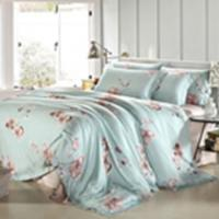 Buy Customized Pieces Home Bedroom Bedding Sets , Flower Printed Bedding Sets at wholesale prices