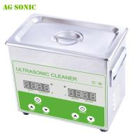Quality 3L 40khz 100W Medical Ultrasonic Cleaner With Heater Hospital Medical Equipment Cleaning for sale