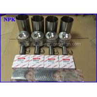 Quality 123901-22080 Piston And Pin With Ring Fit for Yanmar Engine Parts 4TNE106 -2 for sale