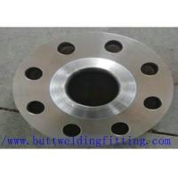 China 904L Stainless Steel Slip On Flanges WN / SO / BL Flanges Used In Pipe Connecting on sale