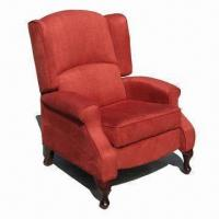 Quality Push Back Wing Recliner Sofa for sale