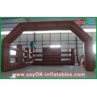 Quality Commercial Inflatable Arch With Fence Inflatable Advertisement for sale
