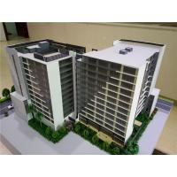 China Miniature Scale Apartment Building Model Acrylic Plastic Material 1 . 2 * 0 . 8M on sale