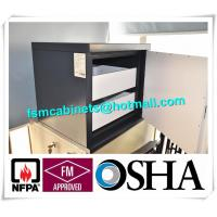 Quality Metal Fire Resistant File Cabinet For Anti Magnetic , Magnetic Proof Safety Cabinets for sale