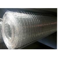 Quality Electro Galvanized Welded Wire Mesh Roll / Stainless Steel Mesh For Loose Strata for sale